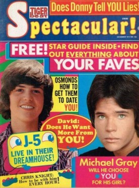 Tiger Beat Spectacular! Osmonds, David Cassidy, Michael Gray, Chris Knight December 1972 (Collectible Single Back Issue Magazine)