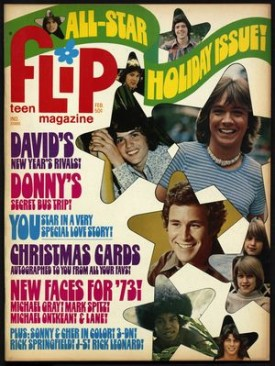 Flip Teen Magazine All Star Holiday Issue Jackson Five, Osmonds, Rick Springfield February 1973 (Collectible Single Back Issue Magazine)