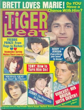 Tiger Beat Osmonds, Tony, Vincent, Freddie Prinze, Heywoods - April 1975 (Collectible Single Back Issue Magazine)