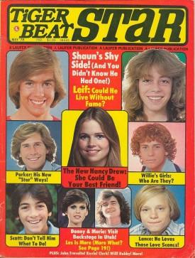 Tiger Beat Star Shaun Cassidy, Parker, Leif Garrett, Scott Baio, Donny & Marie - May 1978 (Collectible Single Back Issue Magazine)