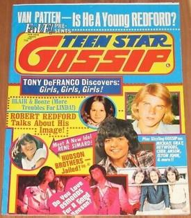 Teen Star Gossip Donny Osmond, Tony DeFranco, Linda Blair, Vincent Van Patten, More February 1975 (Collectible Single Back Issue Magazine)