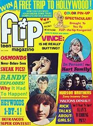 Flip Teen Magazine Michael Jackson, Osmonds, Heywoods, DeFrancos November 1975 Vol. 9 No. 11 (Collectible Single Back Issue Magazine)