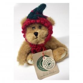 Boyds Bear Big Boy The Bear Red Tomato Knit Veggie Cap 6 Retired