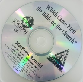 Matthew Arnold: Which Came First, The Bible of the Church? - Lighthouse Catholic Media (Educational CD)