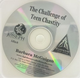 Barbara McGuigan: The Challenge of Teen Chastity - Lighthouse Catholic Media (Educational CD)