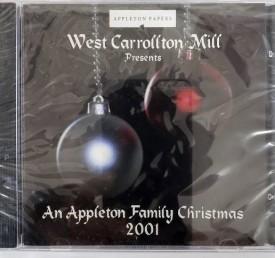 West Carrollton Mill Presents Appleton Family Christmas 2001 (Christmas CD)