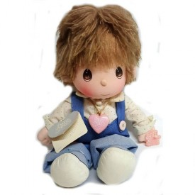 Precious Moments Flippy Praise the Lord Boy Doll 14 by Applause #4568