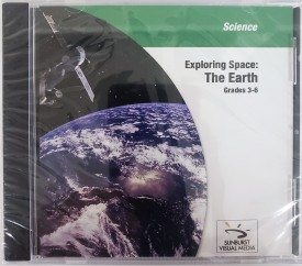 Sunburst Visual Media Discovery School Exploring Space: The Earth (Science Grades 3-6) (DVD)