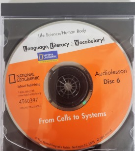 National Geographic Language Literacy & Vocabulary Audiolesson Disc 6 From Cells to Systems (DVD)