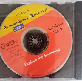 National Geographic, Language, Literacy & Vocabulary! Audiolesson Disc 2 Explore the Southeast (DVD)
