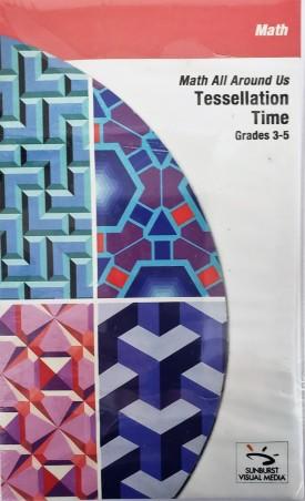 Sunburst Visual Media DVD & VHS Video Set: Math Around Us Tessellation Time (Grades 3-5) (DVD)