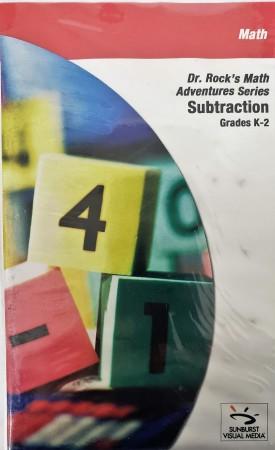 Sunburst Visual Media DVD & VHS Video Set: Dr. Rocks Math Adventure Series Subtraction (Grades K-2) (DVD)