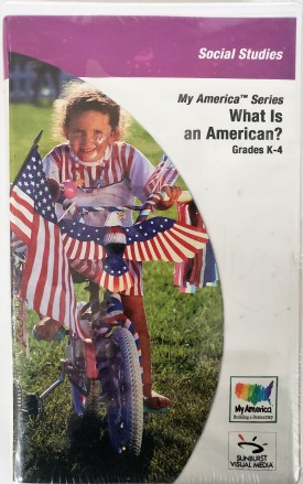 Sunburst Visual Media DVD & VHS Video Set: My America Series What Is An American? (Social Studies Grades K-4) (DVD)