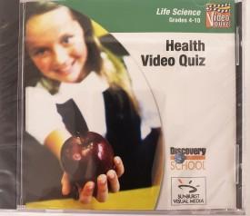 Sunburst Visual Media Discovery School Health Video Quiz (Life Science Grades 4-10) (DVD)