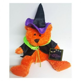 Sonoma Halloween Plush Bear In Witch/Wizard Costume 10