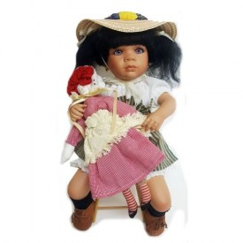 JCPenney Fine Porcelain African-American Doll Jodie by Linda Steele 15