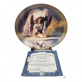 Native American Indian Girl Collector Plate Unbridled Beauty from Daughters of the Wind by D.E. Kucera #58071
