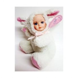 J. Misa Porcelain Baby Doll In Lamb Costume 6