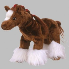Ty Beanie Babies Hoofer the Clydesdale Horse