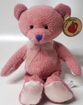 "Papel Classics Rose Petals Pink Teddy Bear Plush 12"""