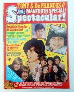 Tiger Beat Spectacular! Donny Osmond, David Cassidy, Bradys, Heywoods - October 1973 (Collectible Single Back Issue Magazine)