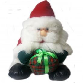 Fiesta Toy 14 Santa With Gift Box Plush