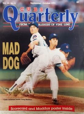 Cubs Quarterly 1991 September-October Vol 10, No. 4 (Single Issue Magazine)