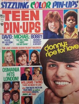 Teen Pin-Ups Osmonds, Elvis, David, Linda Blair, Randy, Donny, Vince June 1975 (Collectible Single Back Issue Magazine)