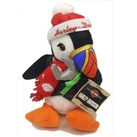 Vintage 2000 Harley Davidson Spoke The Penguin Christmas Bean Bag Plush