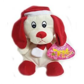 Sugar Loaf Toys 10 Santa Dog Plush