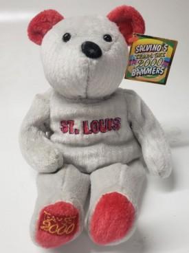 St Louis Cardinals, Mark McGwire Salvino's 2000 Team Set Bammer Beanie Bear
