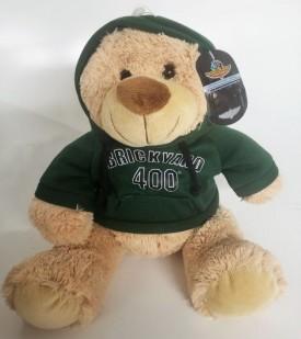"Indianapolis Motor Speedway Brickyard 400 Teddy Bear With Hoodie 12"""
