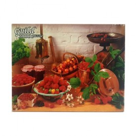 Vintage 1986 Guild Cherries and Berries 1000 Piece Jigsaw Puzzle 4710-38