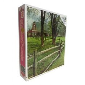 Vintage 1980s Guild Green Pasture 1000 Piece Jigsaw Puzzle 4777