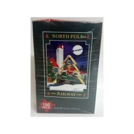 SE North Pole Railway 150 Piece Jigsaw Puzzle