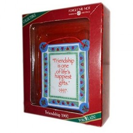 American Greetings Collectible Friendship 1997 Ornament No. FXOR-031W
