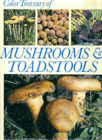 Color Treasury of Mushrooms & Toadstools : How to Find and Identify Them (Hardcover)