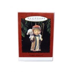 1994 Hallmark Keepsake Ornament Helpful Shepherd QX5536