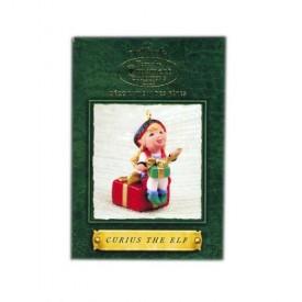 2002 Hallmark  Keepsake Ornament Curius The Elf QXC4623