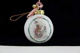 1991 Precious Moments Ceramic Christmas Ornament - Tell Me the Story of Jesus