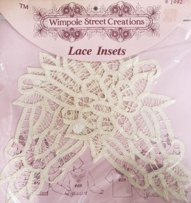 Wimpole Street Creations Lace Insets