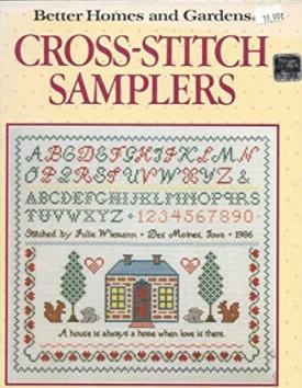 BETTER HOMES & GARDENS CROSS STITCH SAMPLER BOOK (Hardcover)