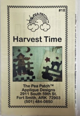 Vintage Pattern #18 The Pea Patch Harvest Time