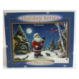 Holiday Series The Meeting 500 Piece Puzzle