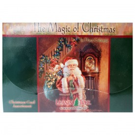 Leanin Tree The Magic of Christmas by Donna Gelsinger Christmas Card Assortment 20 Cards & Envelopes
