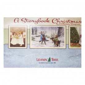 Leanin Tree A Storybook Christmas by Catherine Simpson Christmas Card Assortment 20 Cards & 22 Envelopes