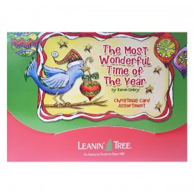 Leanin Tree The Most Wonderful Time of the Year Christmas Card Assortment 20 Cards & 22 Envelopes