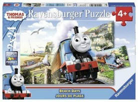 """Ravensburger Thomas & Friends """"Beach Days"""" 24 Piece Jigsaw Puzzle for Kids – Every Piece is Unique, Pieces Fit Together Perfectly"""