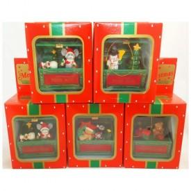 Nostalgic Christmas Toybox Ornament Set of 5