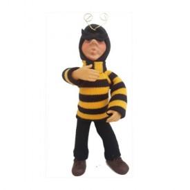 7 Kindles Buzz Poseable Bumblebee Costume Elf Figure Ornament